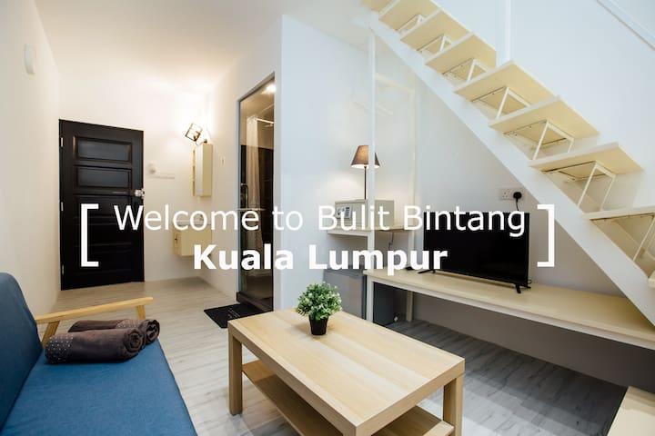 KS06- Truly Bright & Stylist Room in Bukit Bintang