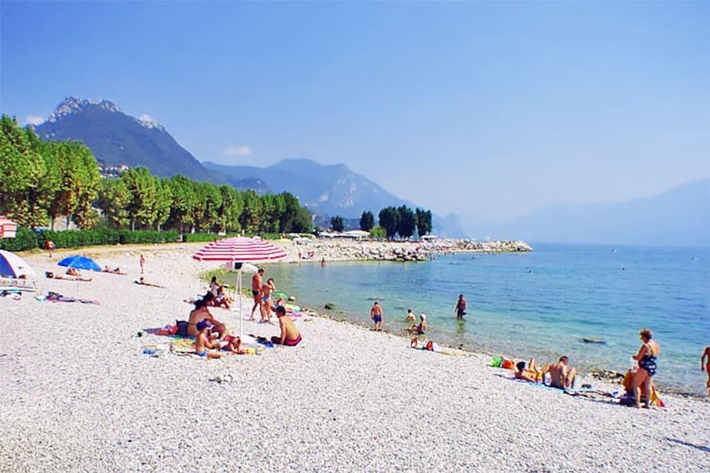 Spiaggia a 200 mt dalla casa