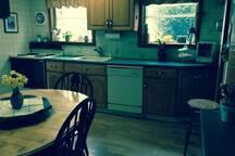 Kitchen,  Table seats 6