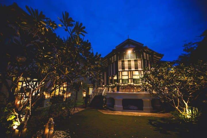 Traditional House - Green Room - Singapur - Haus