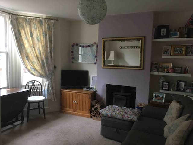 Cosy flat in Hove (with a cat!)