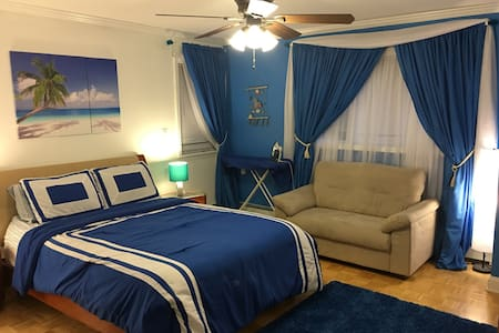 Large room with Queen bed - New City - House
