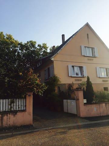 Maison  d'hôtes au cœur de l'Alsace - St Hippolyte