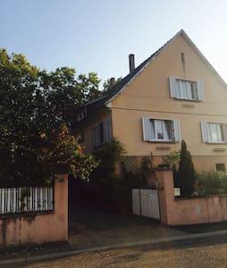 Maison  d'hôtes au cœur de l'Alsace - St Hippolyte  - Casa
