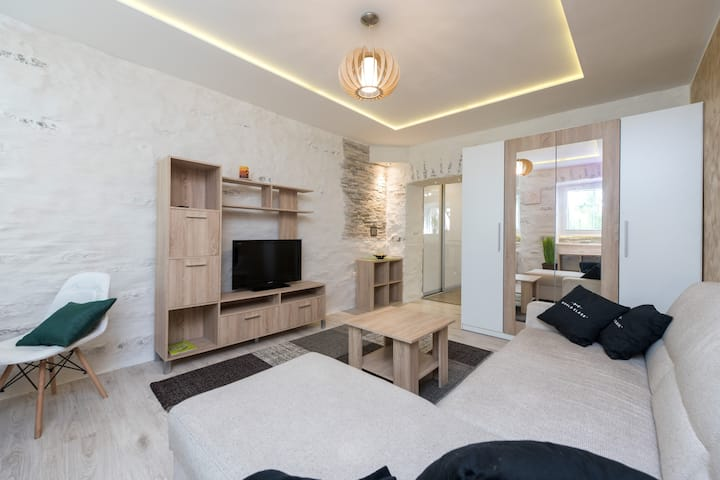 """Smart home in centre of Tallinn - """"The Cave"""""""