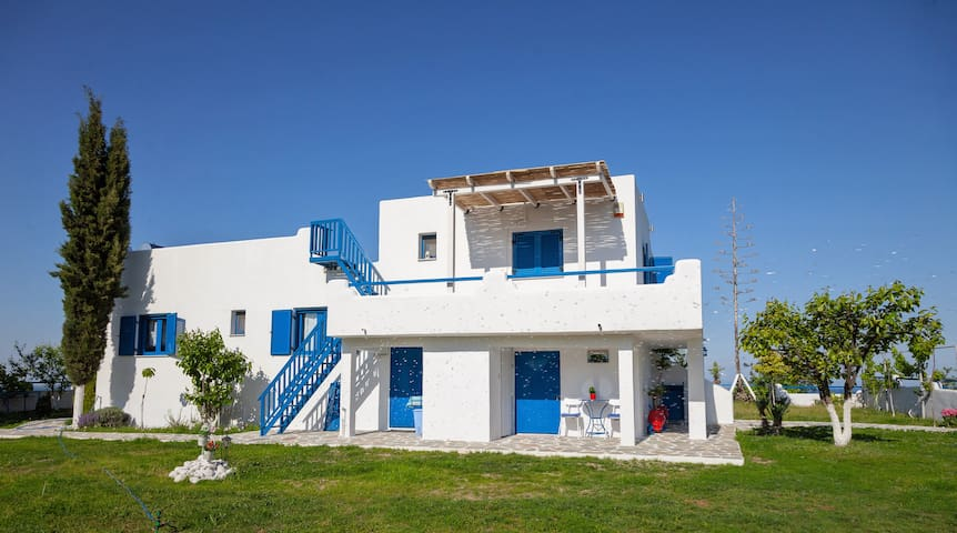 Navy Greece Vacation Villa ~ view of sea & Olympus