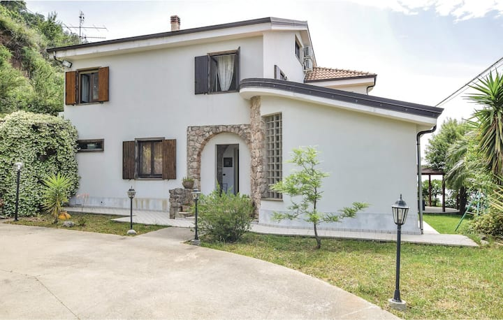 Stunning home in Gizzeria CZ with 5 Bedrooms