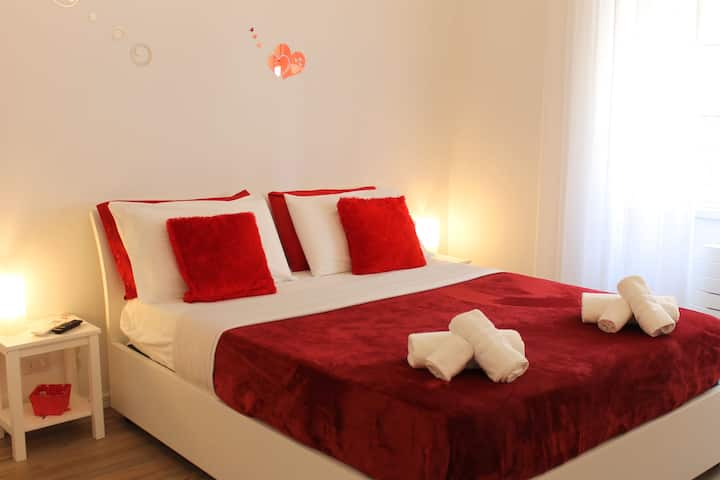 L'Ormeggio a Porto Cesareo camera maestrale rossa