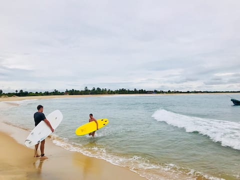 It's a best place for Surfing.Amozon lagoon&beach