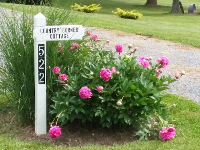 COUNTRY CORNER COTTAGE on SENECA LAKE WINE TRAIL