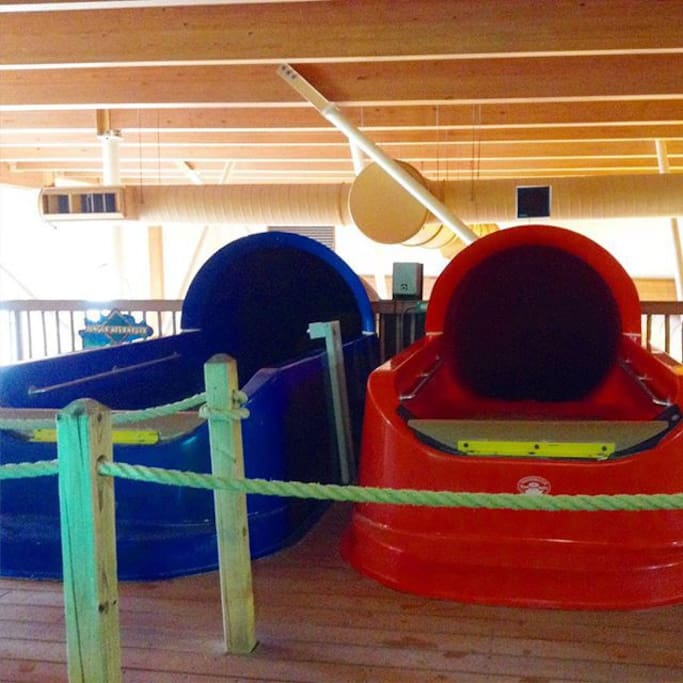 Indoor waterpark for older kids and adults