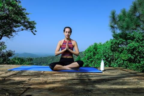 Yoga/Meditation and nature lovers  paradise