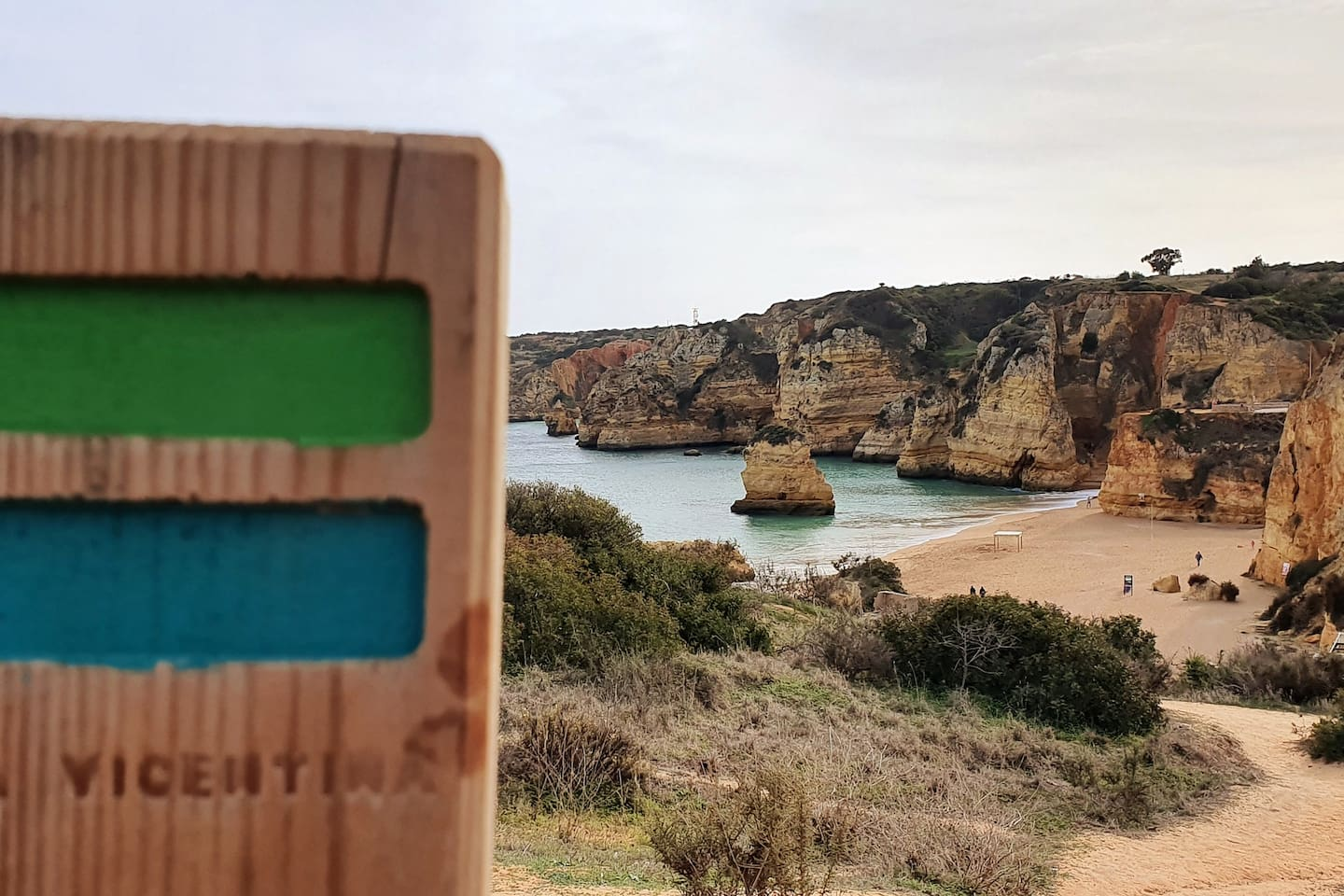 """""""Rota Vicentina"""" Grand Hiking Trail is just 50 meters from the apartment."""