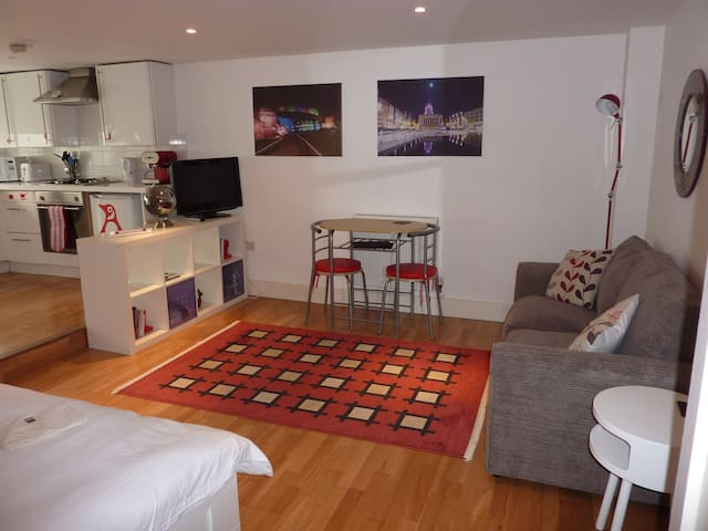 Quiet Studio close to City centre - Nottingham - Apartament