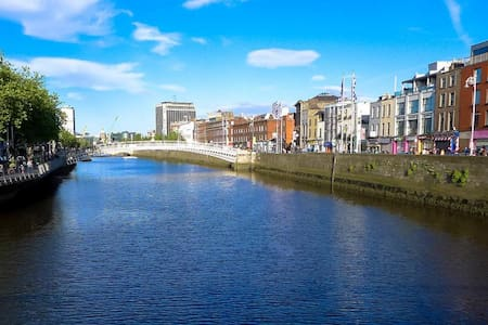 King bed in the City. 5mins from Guinness brewery - Dublin - Byt