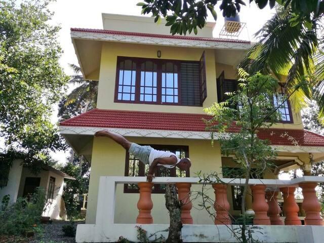 Indra Yoga Retreat Near kovalam beach a/c Room