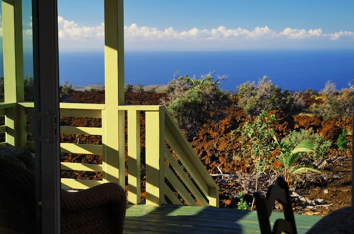 Private bungalow with ocean view - Ocean View - Bungalou