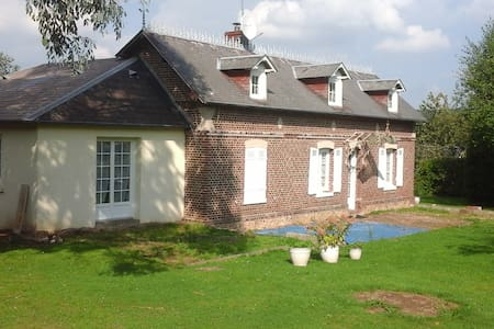 Normande atypique - Saint-Sulpice-de-Grimbouville - Casa