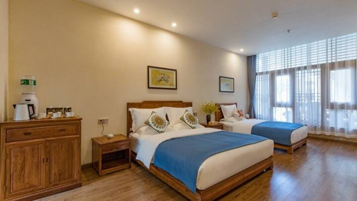 Qinyuan Qingshe Holiday Inn Elegant family room