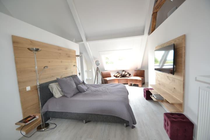 Luxueuze loft op 10 minuten van Maastricht.