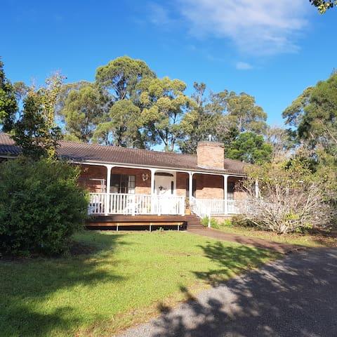 Magnolia house homestead frontage.