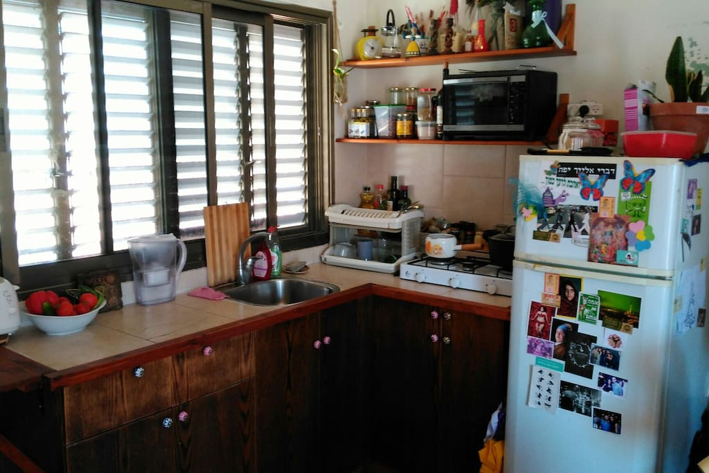 fully equipped homy kitchen