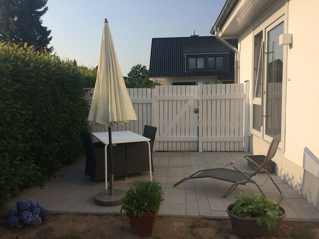 New two room terrace apartment in beautiful area