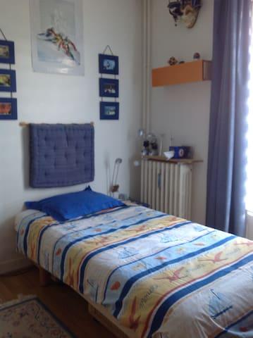 Chambre pour voyageur individuel - Compiègne - Apartament