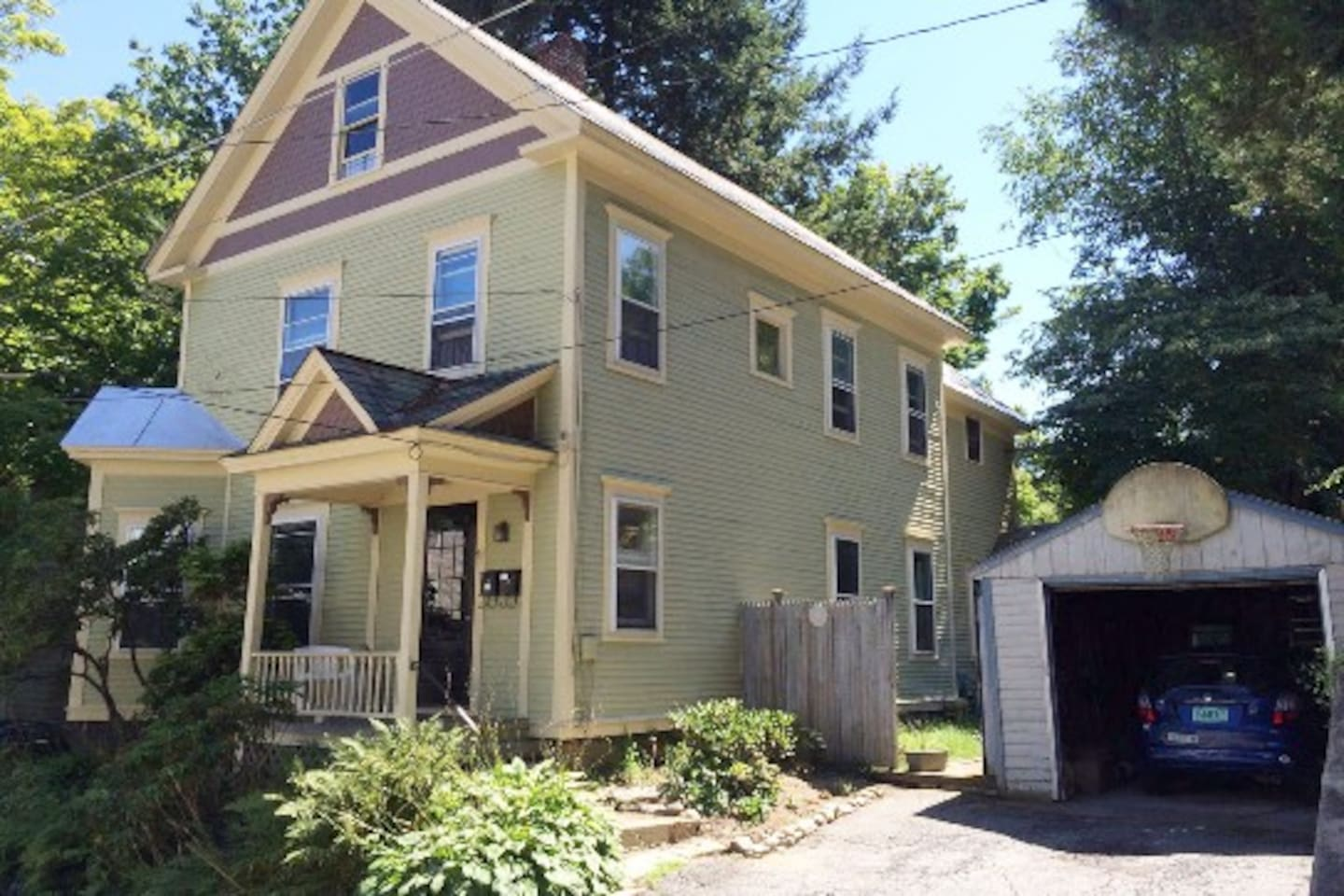 Home sweet home! Our New England Victorian was built in the 1870s and retains its original charm. Nestled in one of the most beautiful and historic neighborhoods in Brattleboro: only a few blocks to downtown, the train station, bars and restaurants!