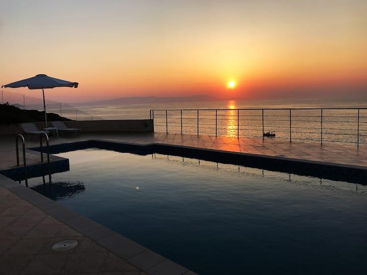 What a view villa !!!