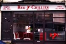 The excellent 'Red Chillies' Indian take-away on Preston Drove, at the top of Beaconsfield Villas.