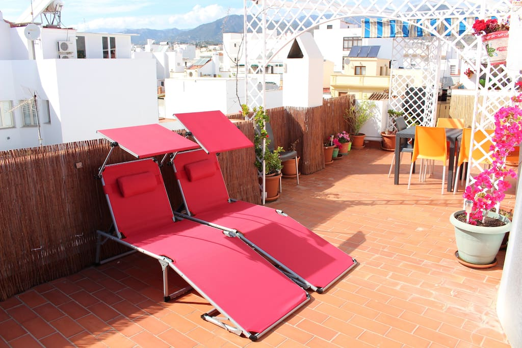 Penthouse with terrace 85m2 center jacuzzi apartments for The terrace top date
