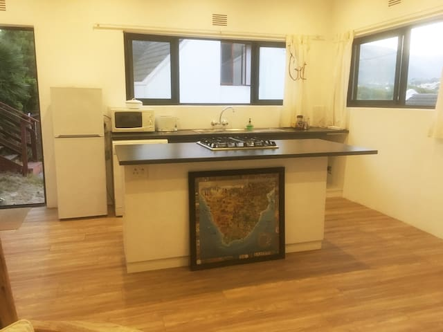 The ope-plan Kitchen