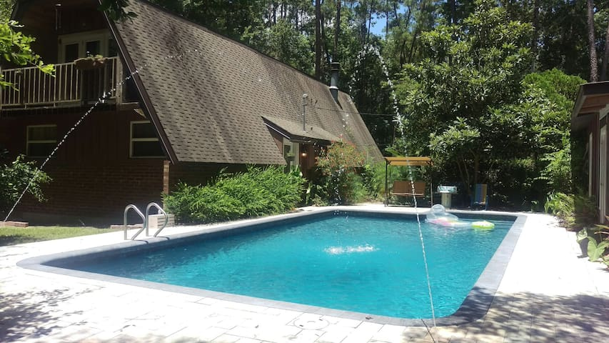 Swamp paradise with private pool. - Gainesville - Casa