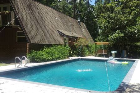 Swamp paradise with private pool. - Gainesville