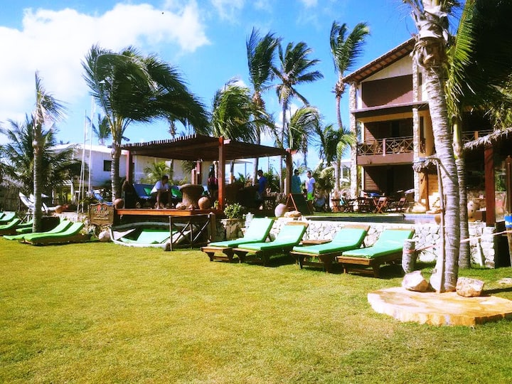 COMFORT apt (15 m2/2 pers)  ★★★★  Ilha do Guajirú