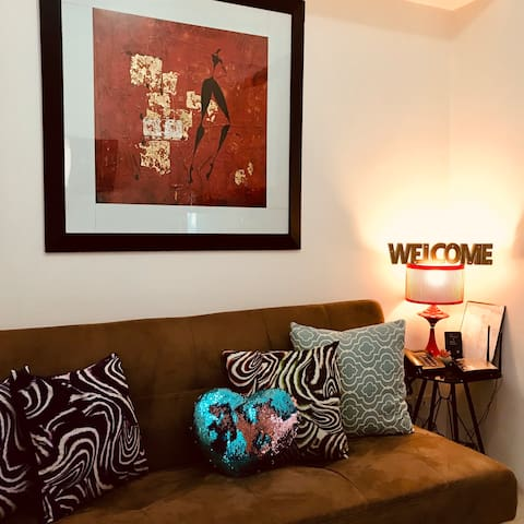 1 br condo with WIFI at SMDC LIGHT RESIDENCES