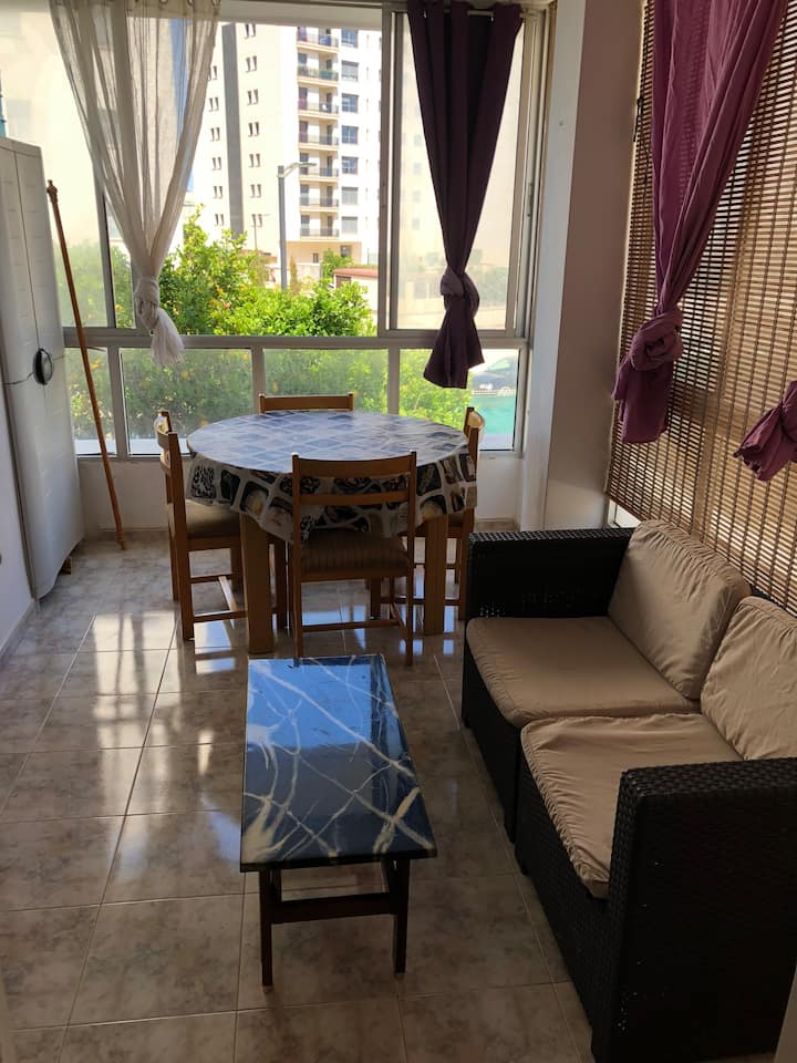 Room with double bed in Playa den Bossa