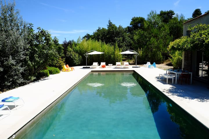 LA JAUME VILLA WITH HEATED POOL, MENERBES LUBERON - Ménerbes - บ้าน