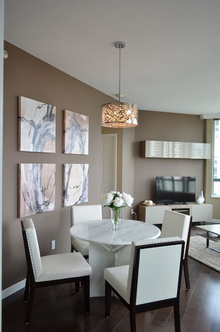 """Living & Dining Room with 50"""" TV"""