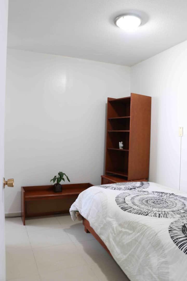 Confortable habitación en el sur de CDMX