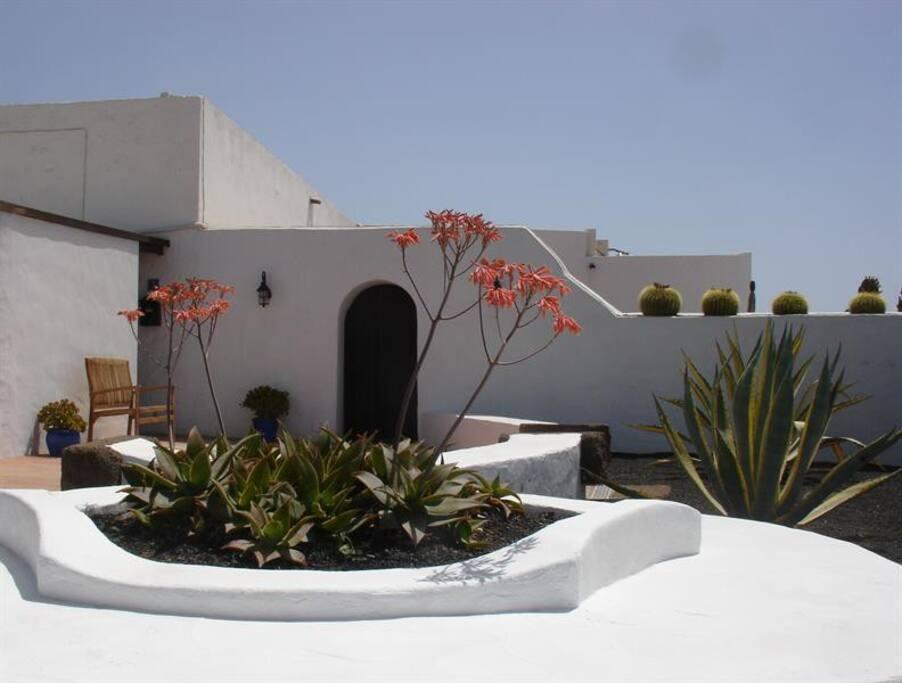 Entrance to Casa Camella