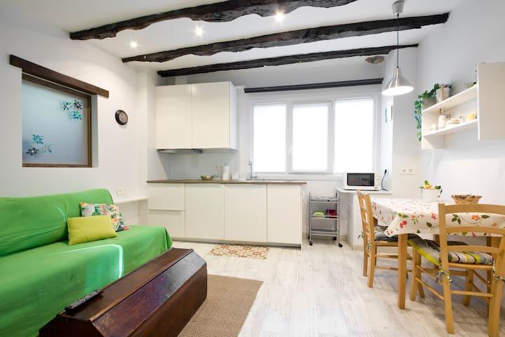 Estancia principal del Loft: cocina-comedor-sala