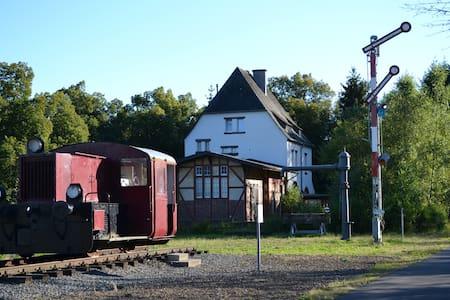 Urlaub im ehem. Bahnhof Schalkenmehren (bis 8P) - Schalkenmehren