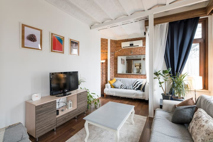 Luxury Loft Flat in the Middle of Taksim