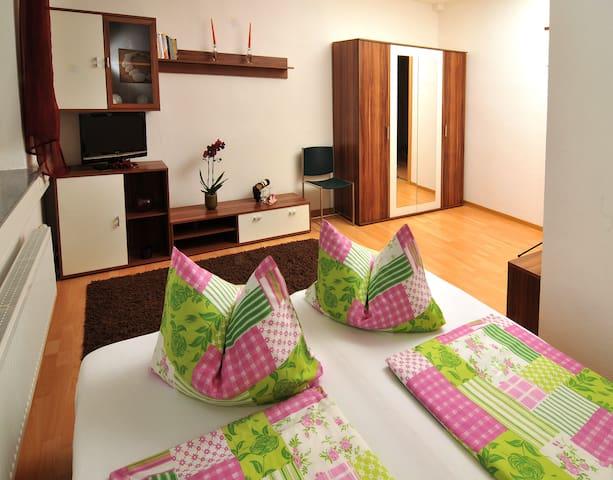 Gästezimmer DU/WC auf dem Gang in Hartha Sachsen - Hartha - House
