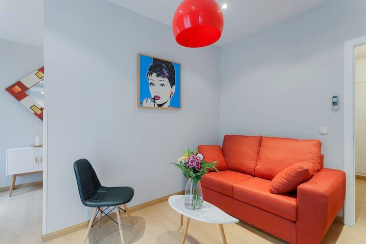 Apartamentos Acogedores y de diseño