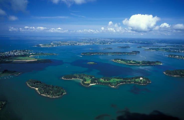 Le golfe du Morbihan : autant d'îles que de jours dans l'année