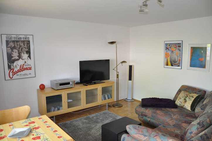 Ferienwohnung Trautmann, (Kressbronn a. B.), Ferienwohnung mit 57qm, 1 Schlafzimmer, max. 2 Personen, Balkon