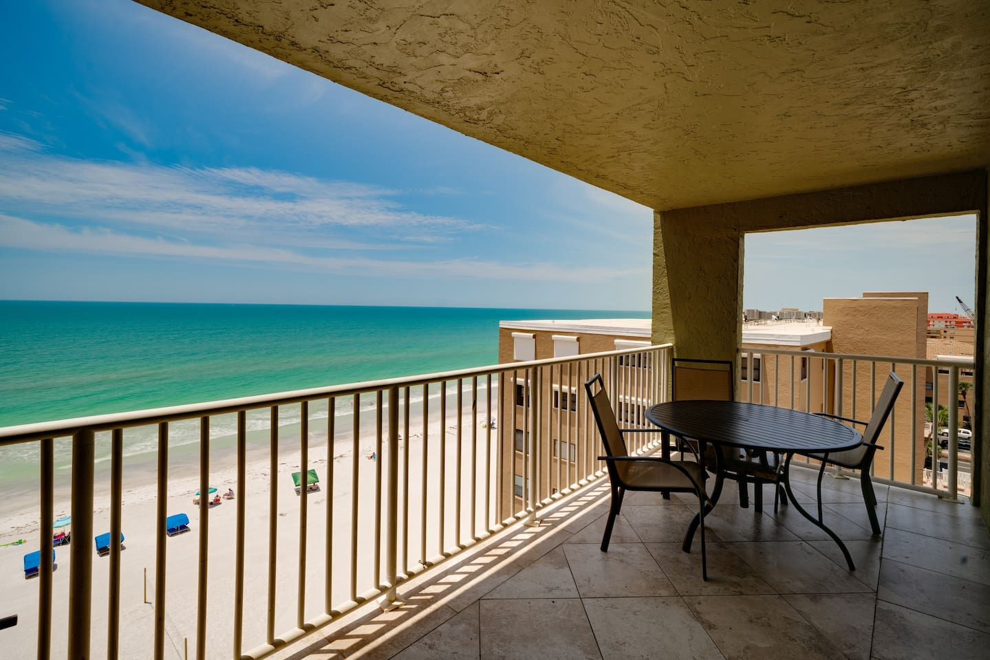 7th floor unit with an amazing beachfront view of the Gulf Coast Beaches of Florida